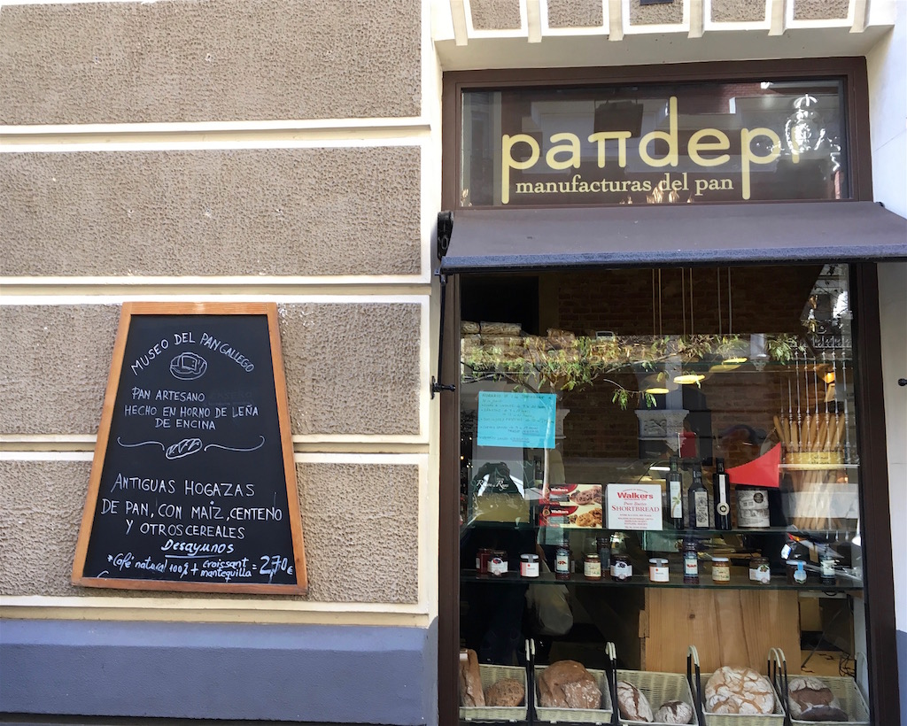 Pandepi bakery Madrid Spain