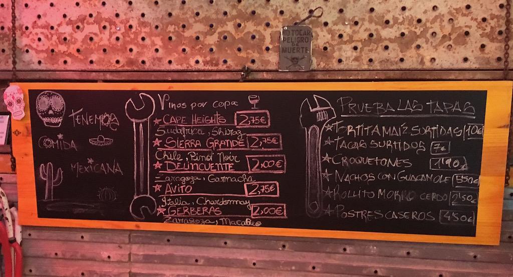 La-Fabrica-menu-board