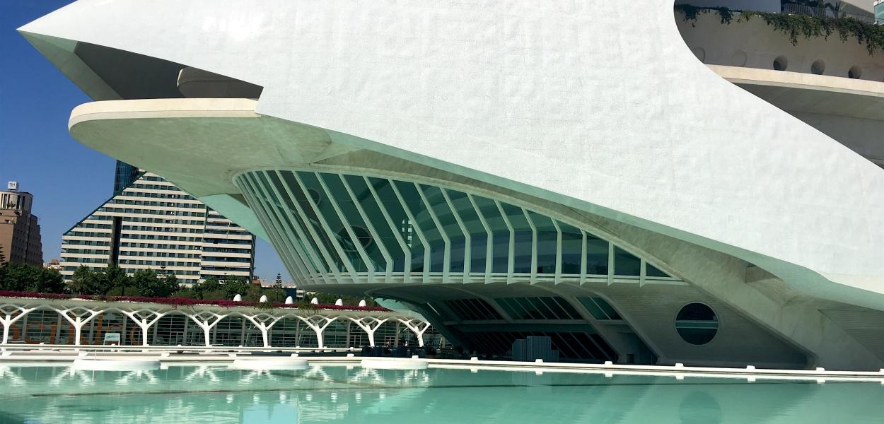 Palau les Artes Reina Sofia Opera Valencia Spain