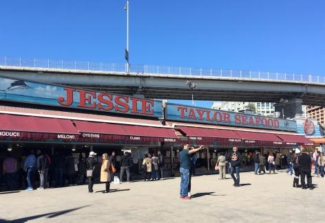 Jessie Taylor Seafood Maine Avenue Fish Market