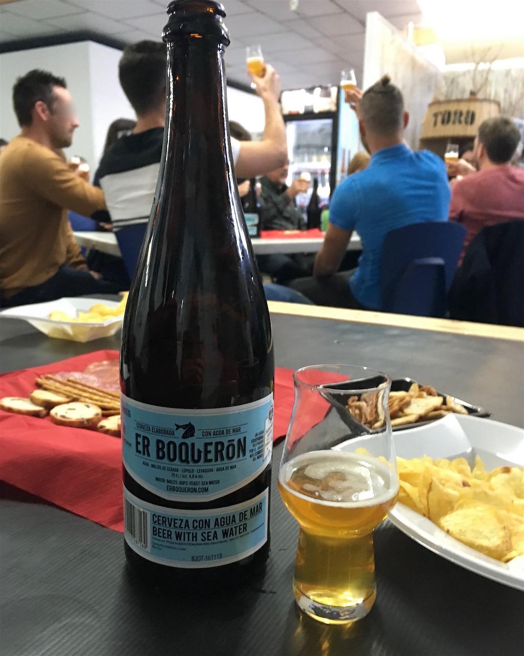 Er Boqueron cerveza tasting