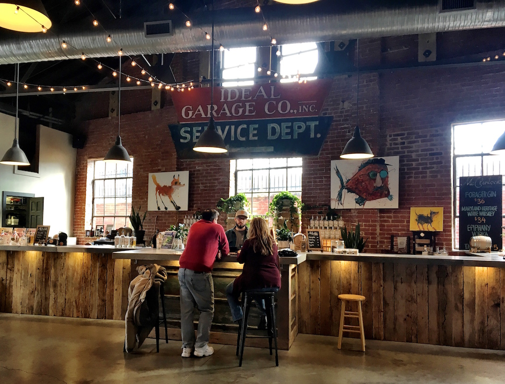 McClintock Distillery Tasting Bar