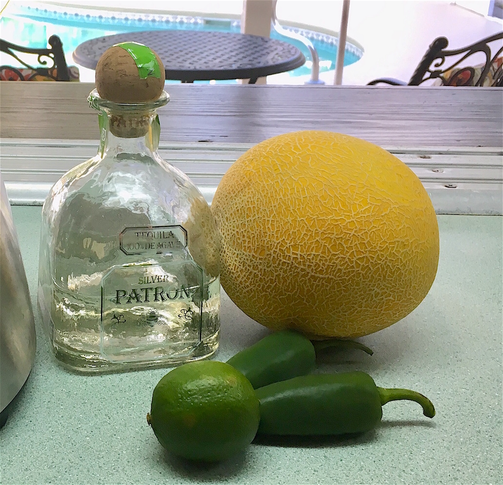 Melon jalapeno margarita ingredients
