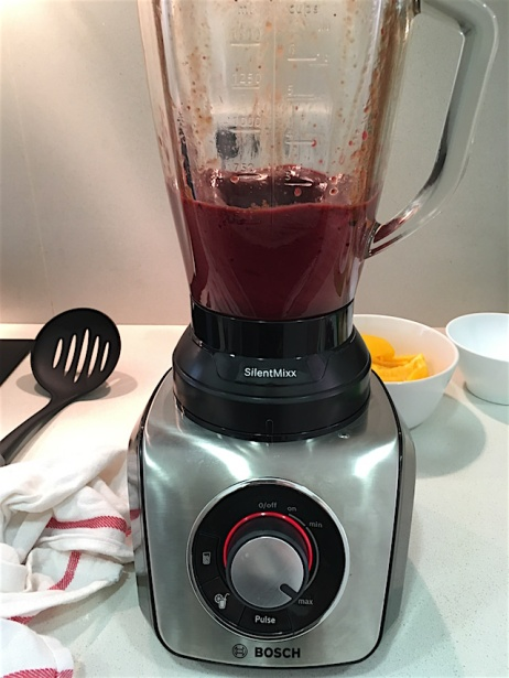 Cherries-in-blender