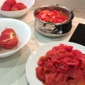 blanched peeled tomatoes