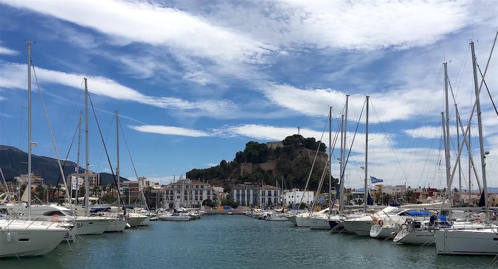 Denia Castle and Marina Alicante Spain