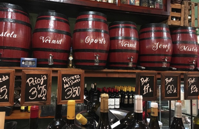 Miguel Juan Wine Casks
