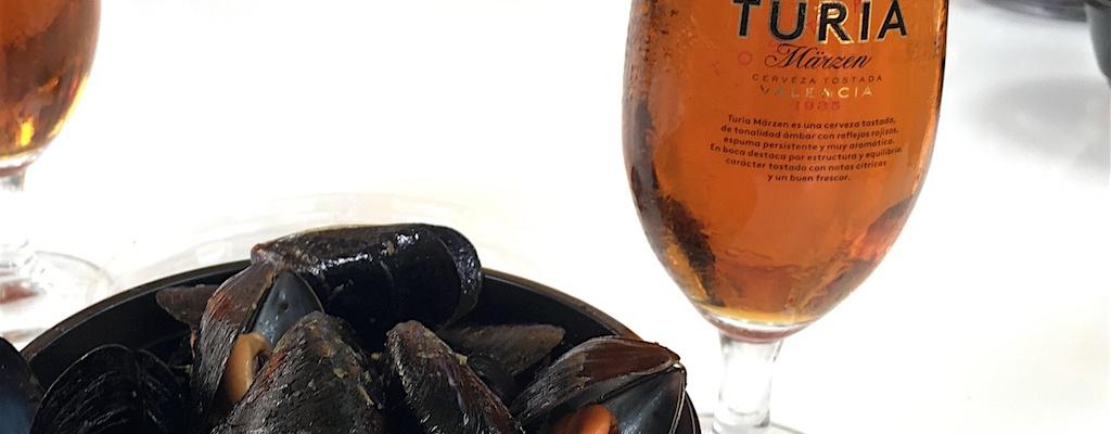 Turia Marzen cerveza and Clotxinas Valencia Spain