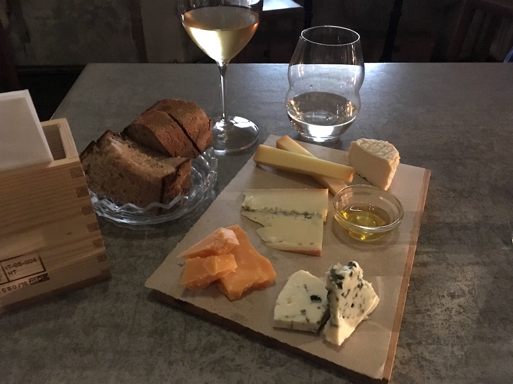 Bokovka Wine Bar Cheese Plate Prague