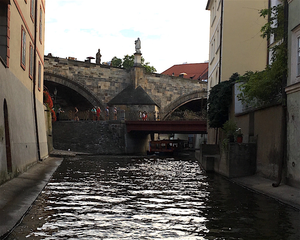 Certovka Canal Vtlava River Prague
