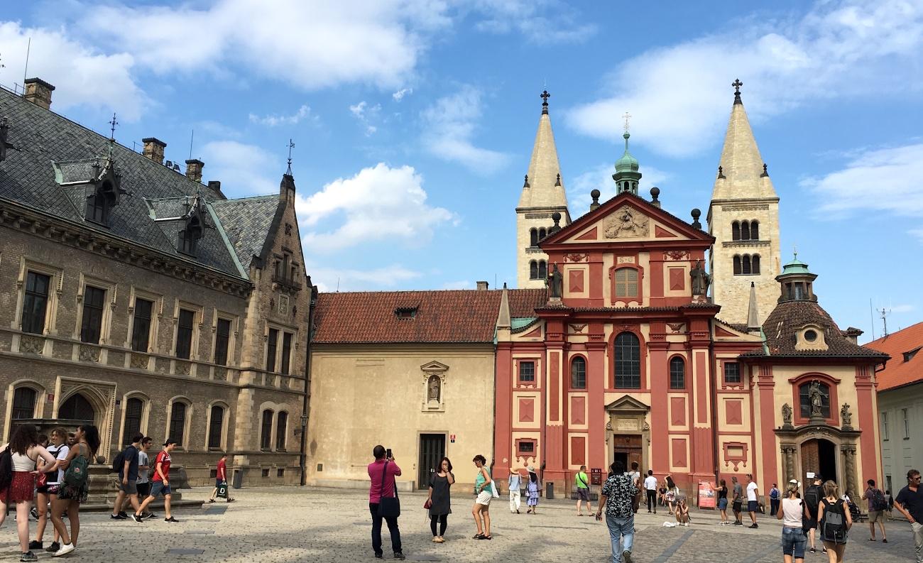 st george basilica prague castle