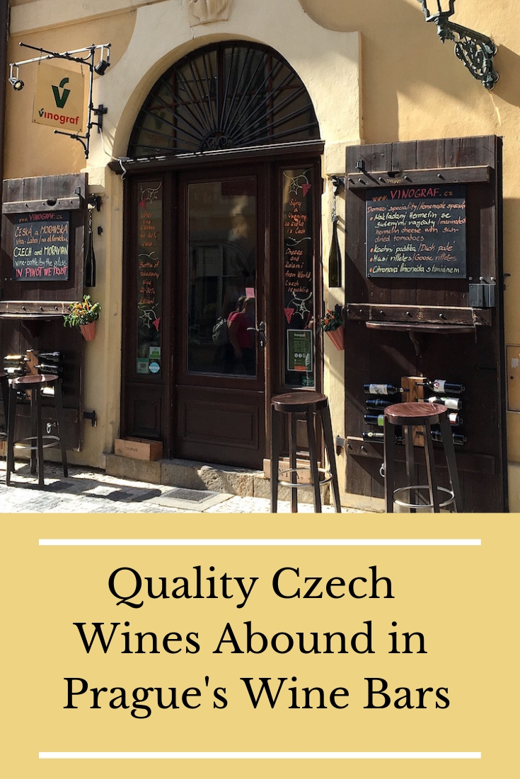 Prague Wine Bars Pin