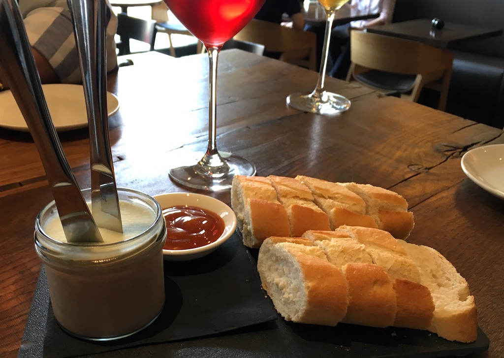 Duck Pate Vinograf Wine Bar Prague Czechia