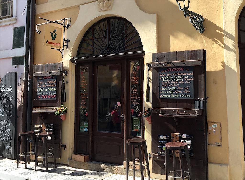 Vinograf Misenska Wine Bar Prague Czechia