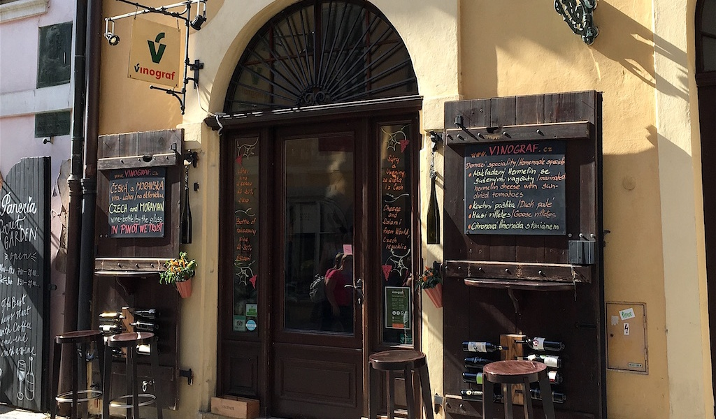 Vinograf Misenska Wine Bar Prague Czechia