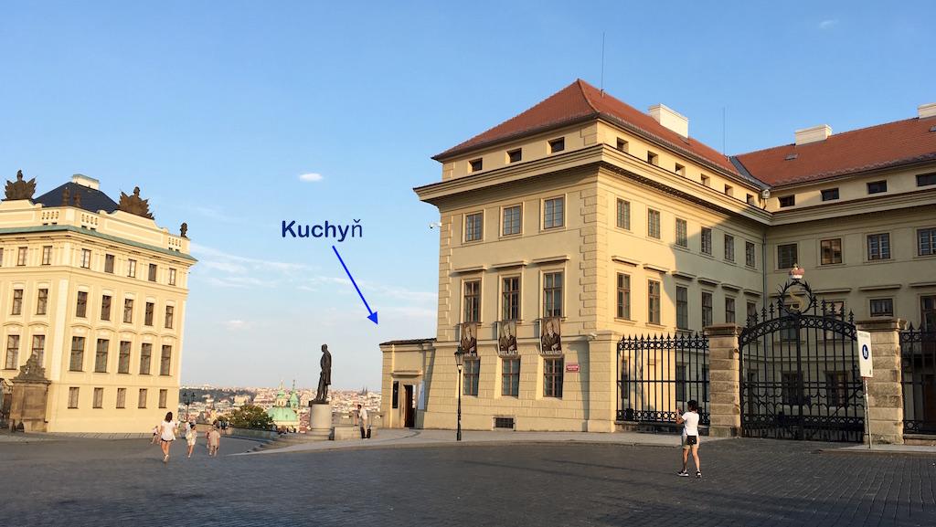 Kuchyn restaurant Salmovský Palace Prague