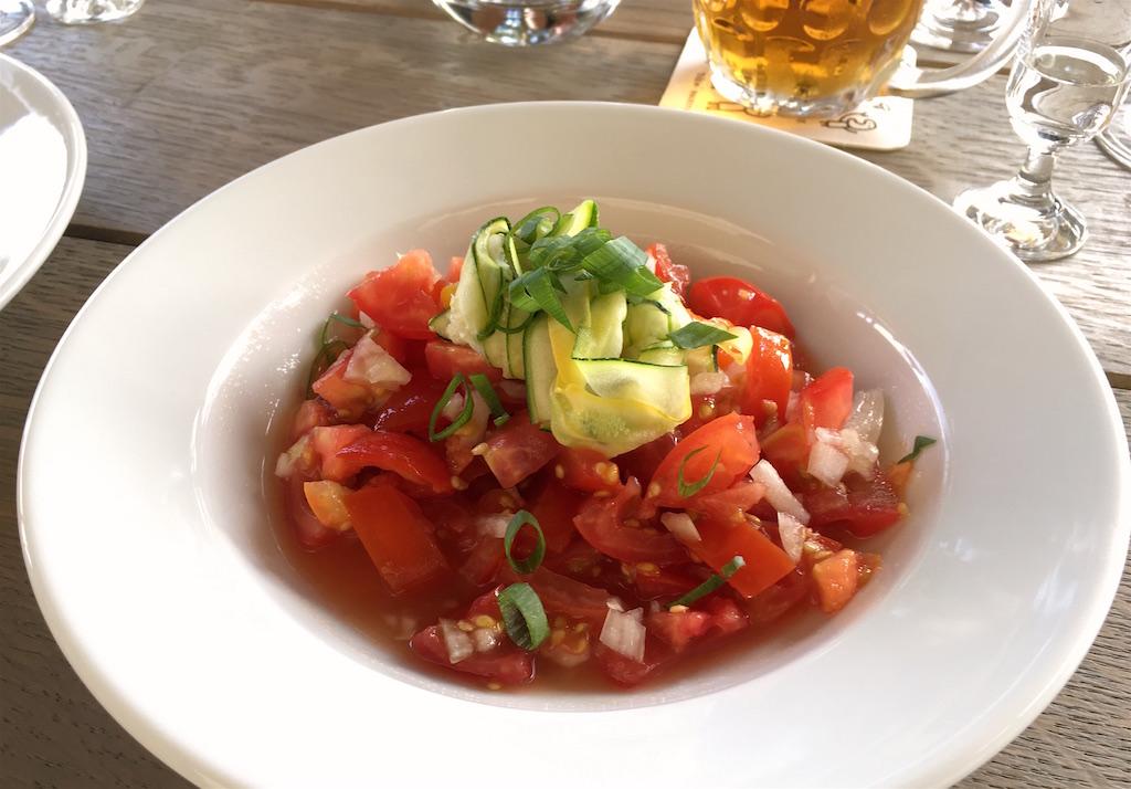 kuchyn tomato salad