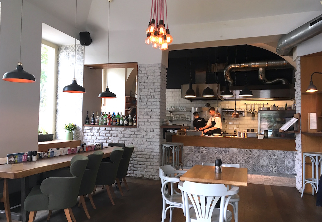 Nejen Bistro Open Kitchen Prague Czechia