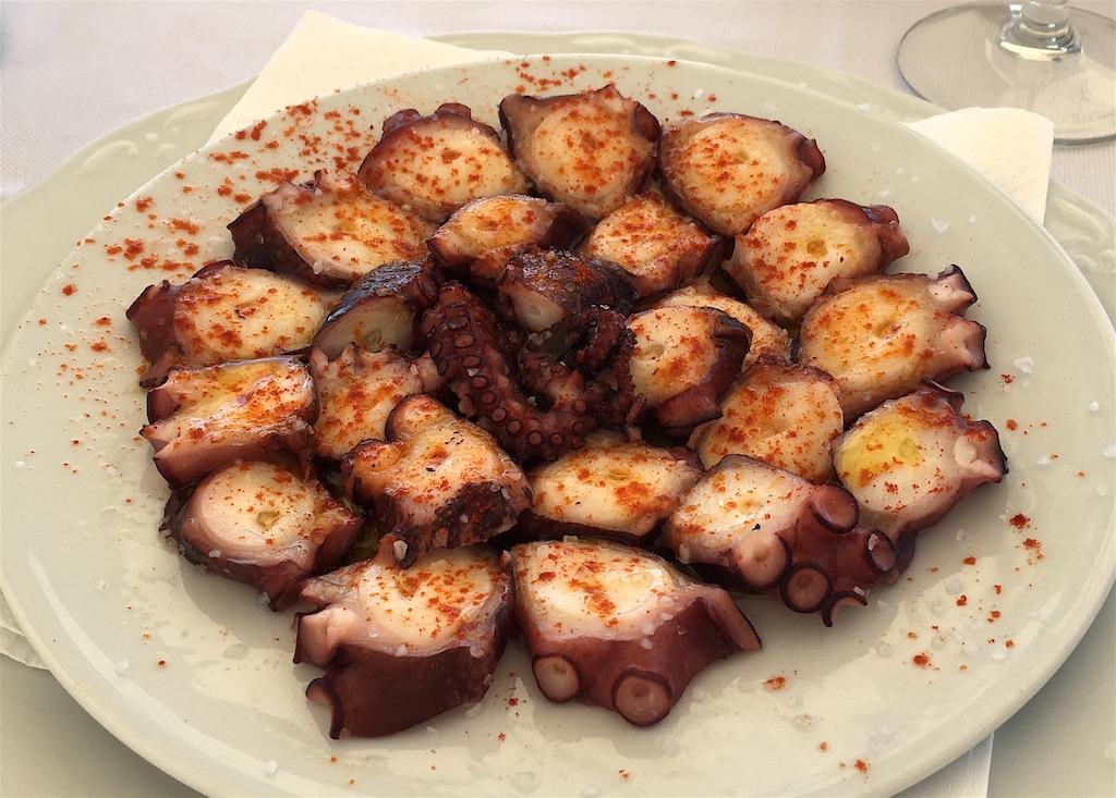 pulpo gallega octopus galicia spain