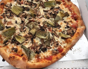 pizza artichokes mushroom don salvatore valencia