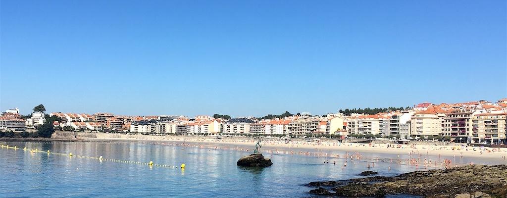 Sanxenxo Galicia Spain Silgar Beach