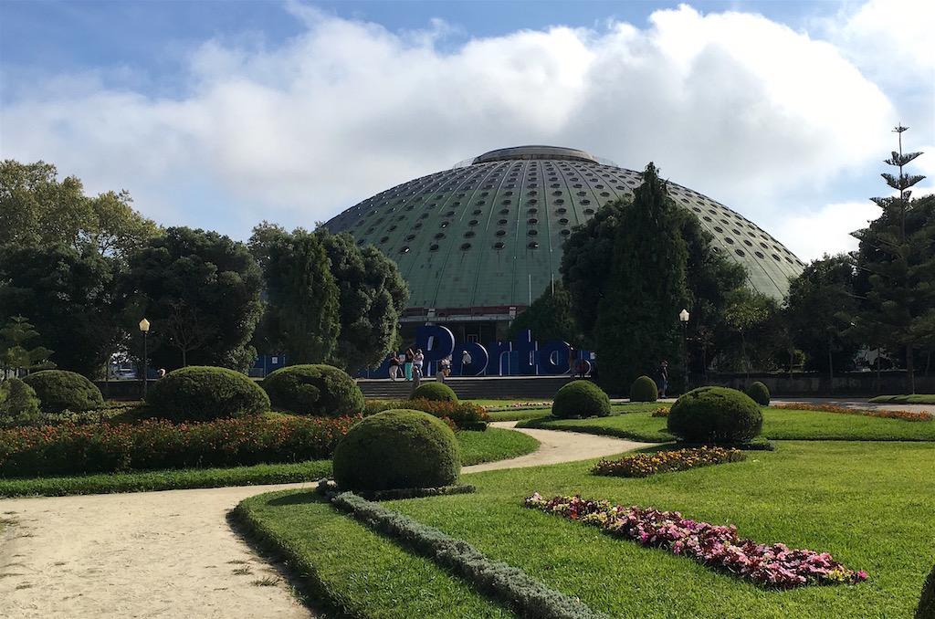Crystal Palace pavilion Porto Portugal