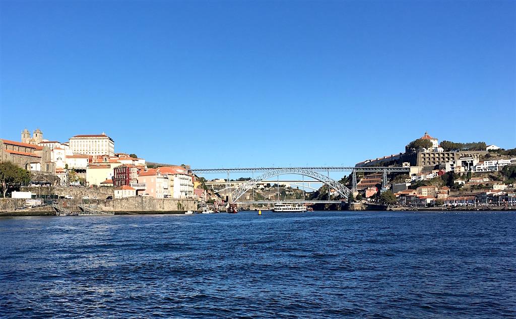 Douro River Dom Luis Bridge Porto Gaia