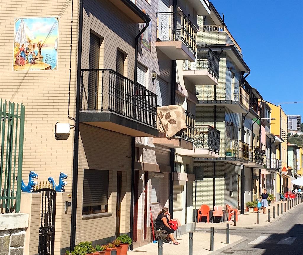 Afurada street Portugal