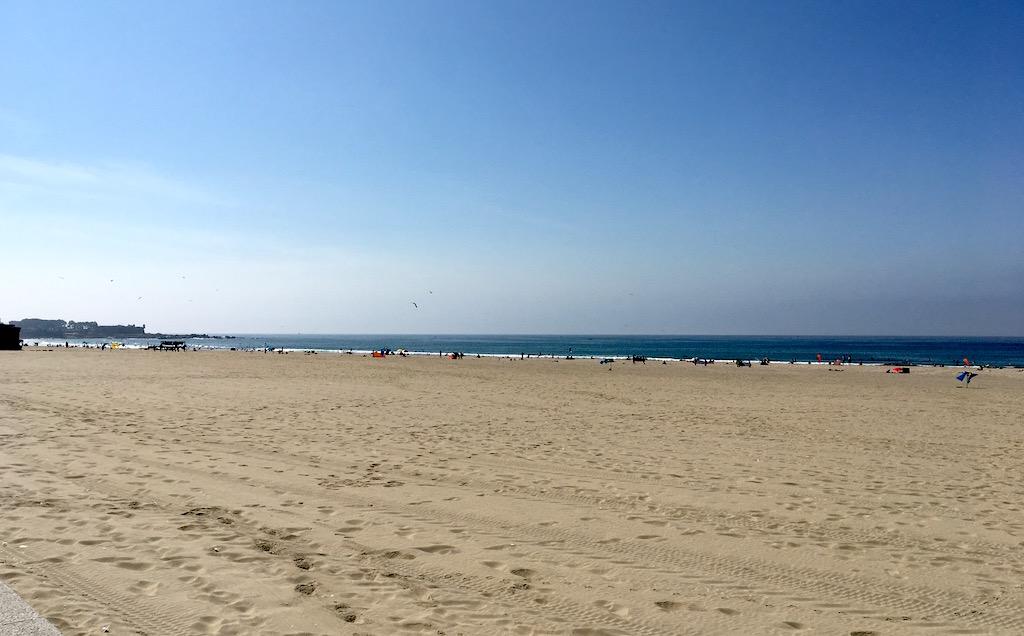 Beach Praia de Matosinhos Portugal