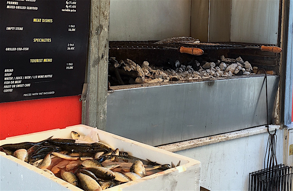 sardines grill Matosinhos Portugal
