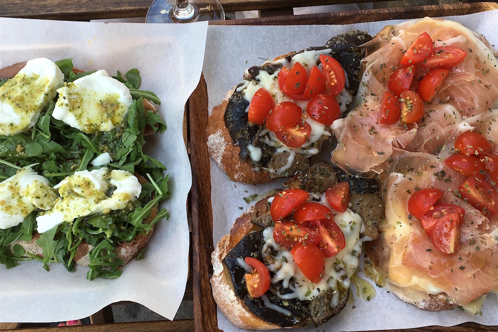 tostas open sandwiches aduela taberna porto