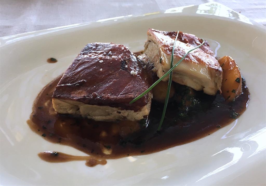 suckling pig port sauce Vinum restaurant porto