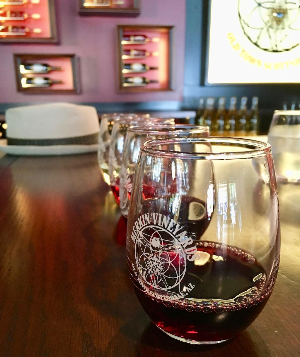 merkin vineyards wine tasting scottsdale arizona