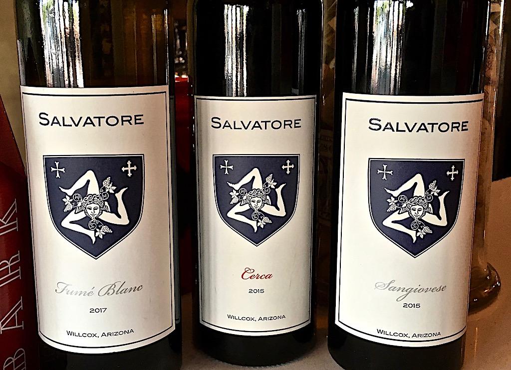 salvatore vineyards wines scottsdale arizona tasting room