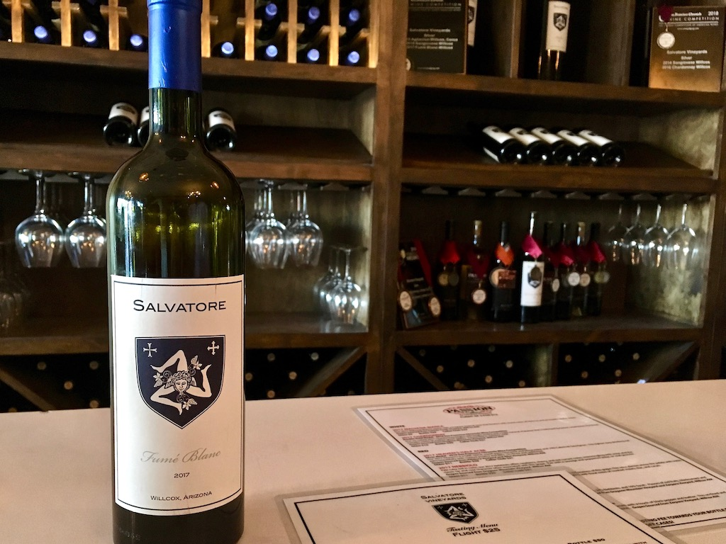 Wine tasting Salvatore Scottsdale Arizona