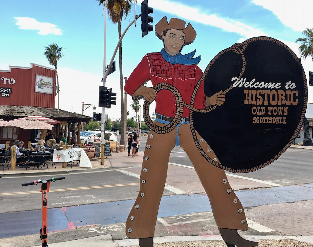 old town scottsdale cowboy