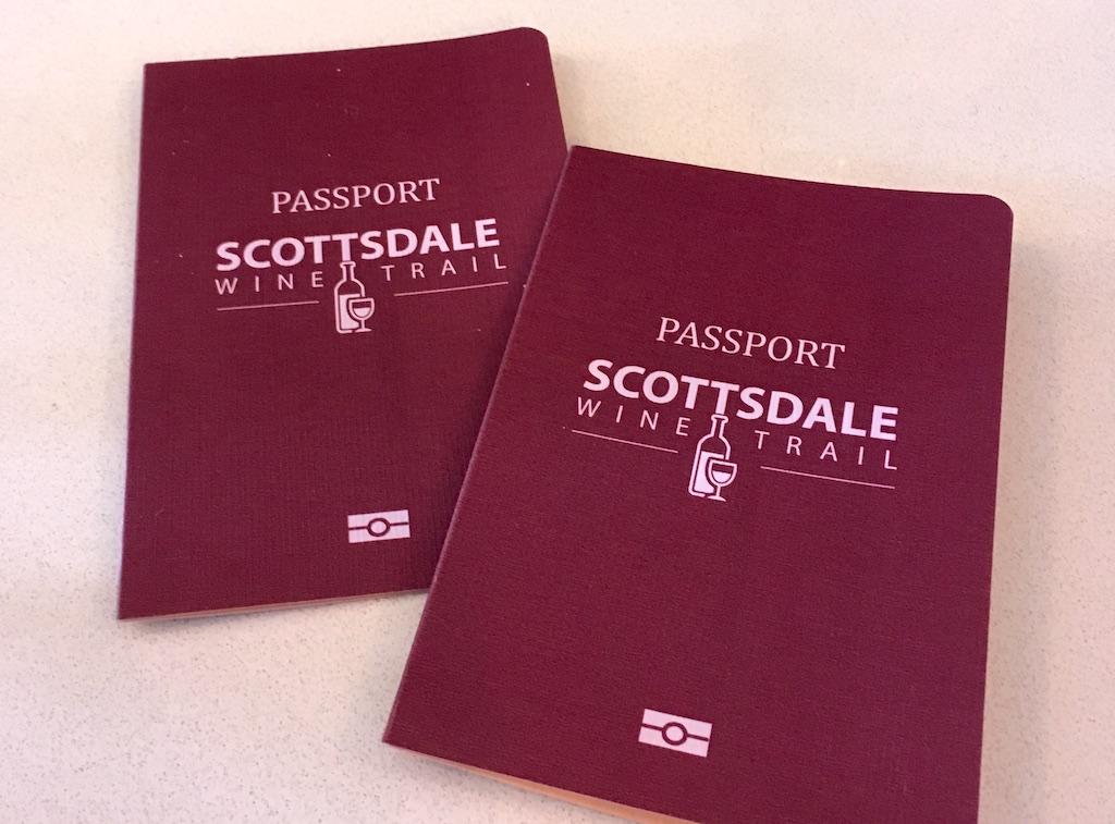 Scottsdale Wine Trail Passports