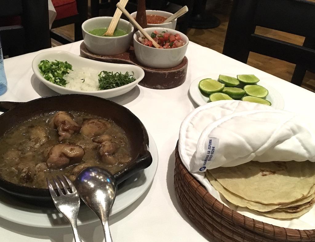 tuétano stewed bone marrow tacos La Soldadera