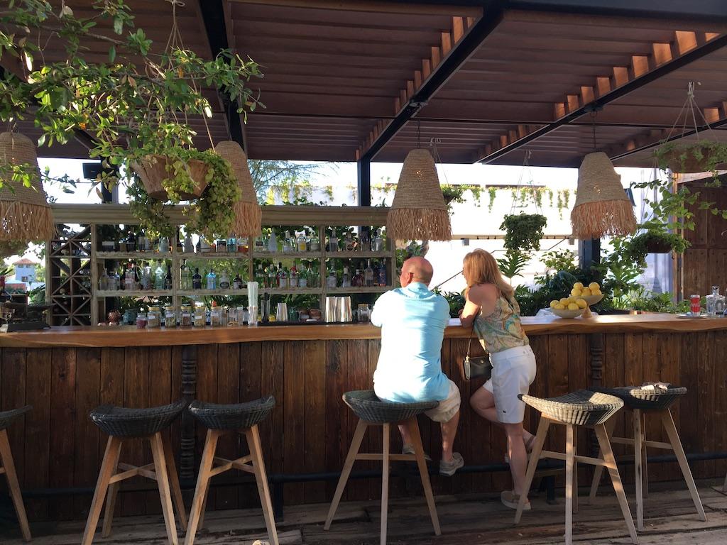 Live Aqua Yintony gin bar