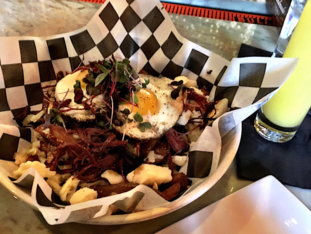 breakfast poutine hooch and banter frederick md