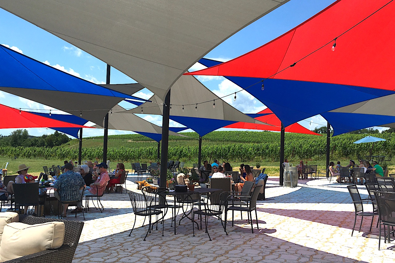 Black Ankle winery under the sails